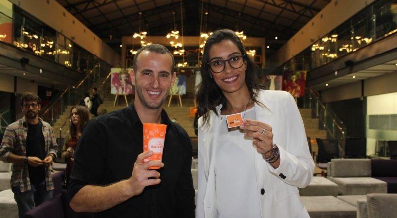 Camila Ferreira e Giovanni Santoro, fundadores do Dazideia