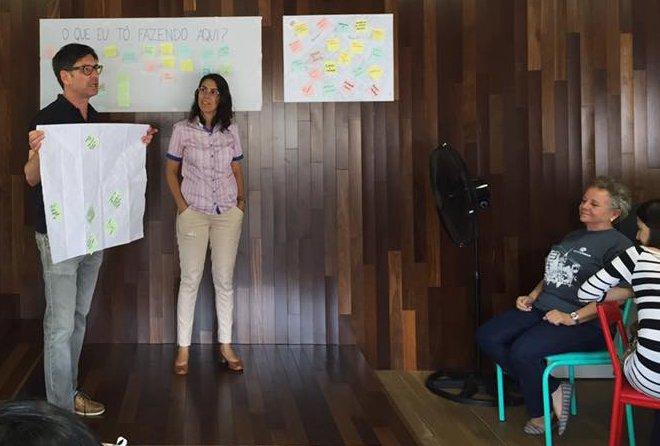 Reunião do Movimento Traços Urbanos com apoio do VIA